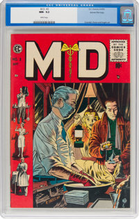 M.D. #3 Gaines File pedigree 5/12 (EC, 1955) CGC NM- 9.2 White pages