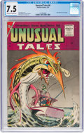 Silver Age (1956-1969):Horror, Unusual Tales #6 (Charlton, 1957) CGC VF- 7.5 Off-white to white pages....