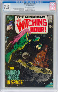 Bronze Age (1970-1979):Horror, The Witching Hour #14 (DC, 1971) CGC VF- 7.5 Off-white to whitepages....