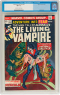 Bronze Age (1970-1979):Horror, Fear #21 (Marvel, 1974) CGC NM- 9.2 Off-white to white pag...