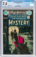 Bronze Age (1970-1979):Horror, House of Mystery #205 (DC, 1972) CGC VF- 7.5 Off-white pages....