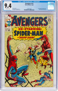 Silver Age (1956-1969):Superhero, The Avengers #11 (Marvel, 1964) CGC NM 9.4 Off-white pages....