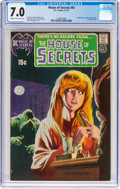 Bronze Age (1970-1979):Horror, House of Secrets #92 (DC, 1971) CGC FN/VF 7.0 Cream to off-white pages....