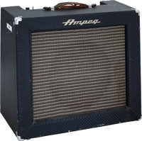 Tommy Tedesco's Ampeg R-12-R Blue Checkered Guitar Amplifier, Serial # 003451