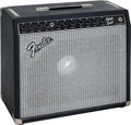 Musical Instruments:Amplifiers, PA, & Effects, Tommy Tedesco's Circa 1983 Fender Black Guitar Amplifier, Serial # F 300868....