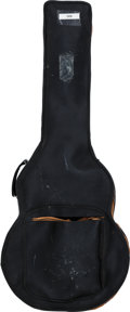 Musical Instruments:Miscellaneous, Tommy Tedesco's Black Leather Gigbag....