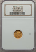 Commemorative Gold, 1905 G$1 Lewis and Clark Gold Dollar MS63 NGC. NGC...