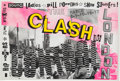 "Music Memorabilia:Posters, The Clash ""Out of Control"" Tour Concert Poster (1984)...."