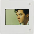 Movie/TV Memorabilia:Photos, Elvis Presley Slide of Portrait from Unpublished Collection. ...