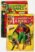 Golden Age (1938-1955):Superhero, All-American Comics #26 and 49 Group (DC, 1941-43) Condition: Average PR.... (Total: 2 Comic Books)