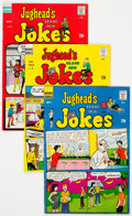 Bronze Age (1970-1979):Humor, Jughead's Jokes Group of 34 (Archie, 1967-75) Condition: AverageVG.... (Total: 34 Comic Books)