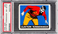 Football Cards:Singles (Pre-1950), 1948 Leaf Clayton Tonnemaker #76 PSA NM-MT 8 - None Higher. ...