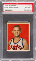 Basketball Cards:Singles (Pre-1970), 1948 Bowman Paul Armstrong #13 PSA NM-MT 8....