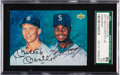 Autographs:Sports Cards, Signed 1994 Upper Deck Mickey Mantle & Ken Griffey Jr. SGC 86 NM+ 7.5. ...