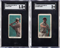 Baseball Cards:Lots, 1911 E94 Close Candy HoFers SGC-Graded Pair (2). ... (Total: 2items)