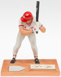 Baseball Collectibles:Hartland Statues, 1985 Pete Rose Signed Limited Edition Gartlan Statue....