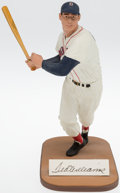 Baseball Collectibles:Hartland Statues, 1980s Ted Williams Signed Limited Edition Gartlan Statue....