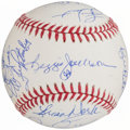 Autographs:Baseballs, 1978 New York Yankees - World Series Champions - Reunion TeamSigned Baseball ( Signatures)....