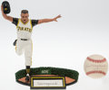 Baseball Collectibles:Hartland Statues, Bill Mazeroski Signed Limited Edition Romito Statue and SingleSigned Baseball....