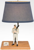 Baseball Collectibles:Hartland Statues, 1999 Shoeless Joe Jackson Southland Statue Limited Edition Lamp....