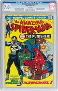 Bronze Age (1970-1979):Superhero, The Amazing Spider-Man #129 (Marvel, 1974) CGC FN/VF 7.0 Whitepages....