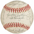 Autographs:Baseballs, 1975 Cincinnati Reds - World Series Champions - Team Signed Baseball (27 Signatures)....