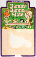Animation Art:Concept Art, The Flintstones Bamm-Bamm Wonder Slate Design Original Art (Hanna-Barbera, c. 1970s)....