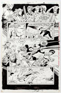 Original Comic Art:Panel Pages, Norm Breyfogle and Joe Rubinstein Anarky #8 Story Page 18 Original (DC, 1999)....
