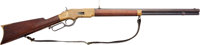 Winchester Model 1866 Lever Action Rifle with Handwritten Madis Letter