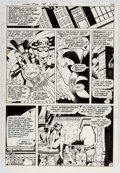 Original Comic Art:Panel Pages, Keith Giffen and Larry Mahlstedt Flash #306 Story Page 2Original Art (DC, 1982)....