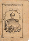 Political:Small Paper (pre-1896), Winfield Scott: Campaign Biography in Pictorial Wraps....