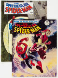 Magazines:Superhero, Spectacular Spider-Man #1 and 2 Group (Marvel, 1968) Condition:Average VG/FN.... (Total: 5 Comic Books)