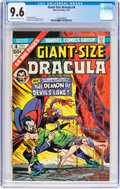 Bronze Age (1970-1979):Horror, Giant-Size Dracula #4 (Marvel, 1975) CGC NM+ 9.6 Cream to off-whitepages....