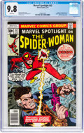 Bronze Age (1970-1979):Superhero, Marvel Spotlight #32 Spider-Woman (Marvel, 1977) CGC NM/MT 9.8White pages....