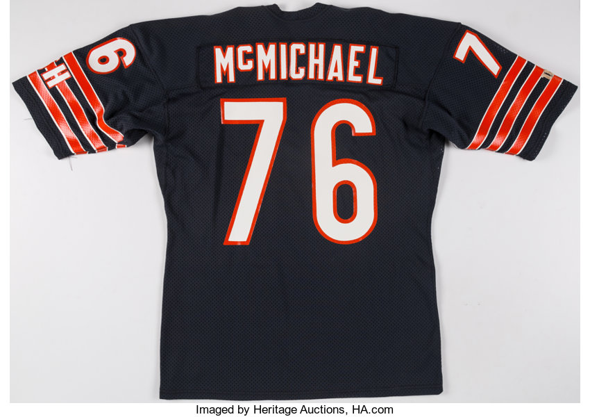 c. 1980s Steve McMichael Game Issued Authentic Model Chicago  c7442bcbc