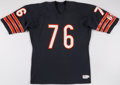 Football Collectibles:Uniforms, c. 1980s Steve McMichael Game Issued/Authentic Model Chicago Bears Jerseys....