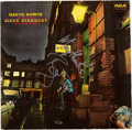 Music Memorabilia:Autographs and Signed Items, David Bowie Signed The Rise and Fall of Ziggy Stardust and the Spider from Mars Stereo LP (RCA International NL 83...