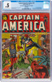 Captain America Comics #10 (Timely, 1942) CGC PR 0.5 Cream to off-white pages
