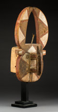 Tribal Art, A Mossi Mask Height:   22 inches...