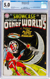 Showcase #17 (DC, 1958) CGC VG/FN 5.0 Off-white pages