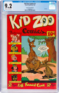 Golden Age (1938-1955):Funny Animal, Kid Zoo Comics #1 Mile High Pedigree (Street & Smith, 1948) CGC NM- 9.2 Off-white to white pages....