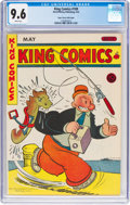 Golden Age (1938-1955):Miscellaneous, King Comics #109 Mile High Pedigree (David McKay Publications, 1945) CGC NM+ 9.6 White pages....