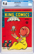 Golden Age (1938-1955):Miscellaneous, King Comics #108 Mile High Pedigree (David McKay Publications, 1945) CGC NM+ 9.6 Off-white to white pages....