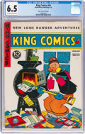 Golden Age (1938-1955):Miscellaneous, King Comics #69 Mile High Pedigree (David McKay Publications, 1942) CGC FN+ 6.5 Off-white to white pages....
