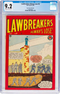 Golden Age (1938-1955):Crime, Lawbreakers Always Lose! #8 Mile High Pedigree (Marvel, 1949) CGC NM- 9.2 Off-white to white pages....
