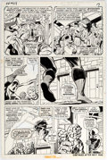 Original Comic Art:Panel Pages, John Buscema and Joe Sinnott Fantastic Four #119 Story Page15 Original Art (Marvel, 1972)....