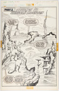 Original Comic Art:Panel Pages, John Buscema and Marie Severin Epic #11 Story Page 1Original Art (Marvel, 1982)....