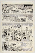 Original Comic Art:Panel Pages, Alan Davis and Paul Neary Excalibur #15 Story Page 20Original Art (Marvel, 1989)....