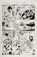 Original Comic Art:Panel Pages, Alan Davis and Paul Neary Excalibur #9 Story Page 20Original Art (Marvel, 1989)....