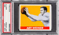 Football Cards:Singles (Pre-1950), 1948 Leaf Art Weiner #58 PSA Mint 9 - Pop One, None Higher! ...